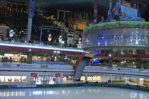 アイススケートリンクは別途有料です