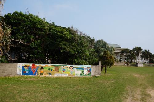 竹富町立鳩間小学校<br /><br />瑠璃達が通った学校です