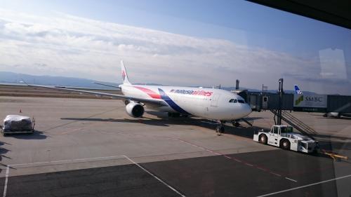 去年お世話になったマレーシア航空もいますね。