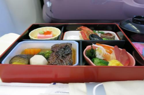 成田ー台北 機内食