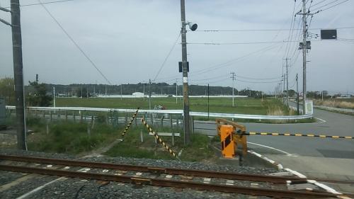 列車はまもなく木戸駅に着きます
