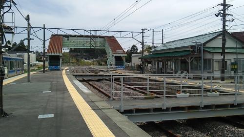 竜田駅はこのような感じです