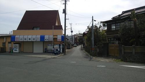竜田駅前の様子です