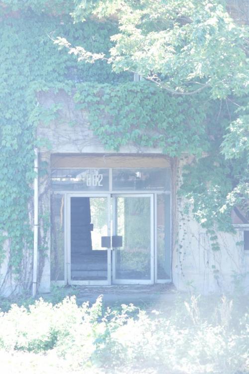 府中の森公園に接する通りには、この<br />ような建物が間近に残っていた。<br /><br />ネットでは、明らかにこのドアの中か<br />らとったと思われる写真がある。<br /><br />おそらく無断で入ったのだろう。<br /><br />パラボラアンテナにしろ、これらの施<br />設跡にしろ、全貌を見るには、人のい<br />ない夜中に入り込んで、日中にいろい<br />ろ見て回り、また再び夜中に撤収する<br />という方法をとるしかない。<br /><br />当然見つかったら無法鉄っちゃん同様、<br />ネットで叩かれ、警察からは罰金を取<br />られるだろう。<br />