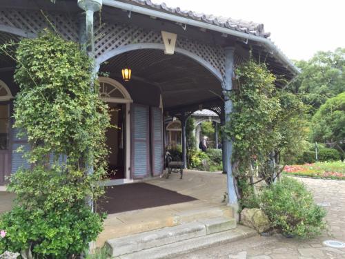 そしてグラバー亭へ<br />江戸時代にこんなにしゃれた住宅が存在してるってのが驚きですね。<br />