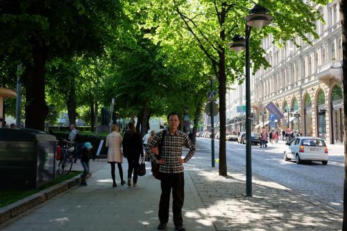 夕刻エスプラナーディ通りを歩きました。<br /><br />もちろんガッチャマンを口ずさみながら(笑)<br />