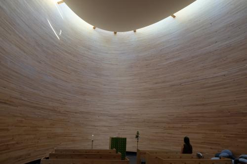 木の教会。