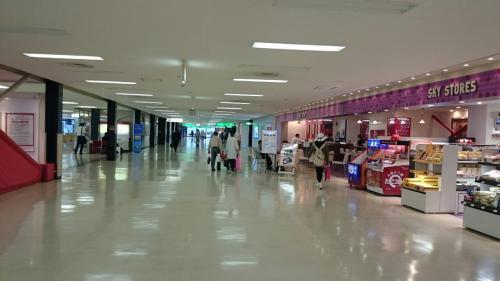 【1レグ】羽田→大阪 JAL103<br />伊丹空港には551蓬莱軒の支店があるので是非行きたかったのですが<br />お腹がどうしても空いていなかったので断念。<br />すぐに奄美行きのゲートに向かいました。<br />