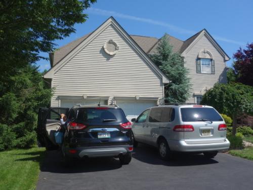 ニュージャージー州<br />イングリッドの家