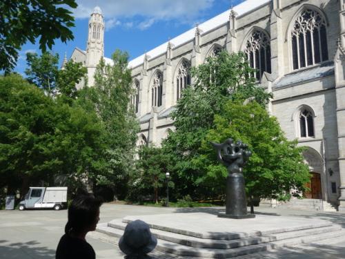 プリンストン大学<br />アメリカにしては歴史のある建物