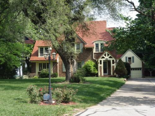 カンザスシティのユージーンが住んでいた家