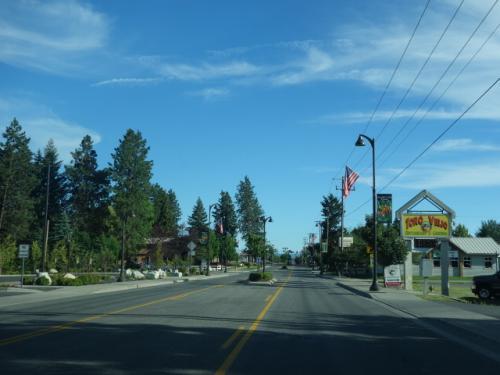緑の豊富なアイダホ州