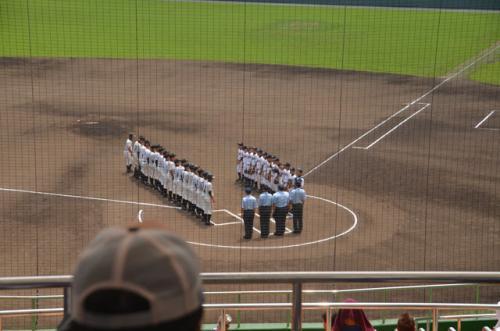 第2試合の池新田−富士の開始です。