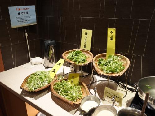 茹で野菜。
