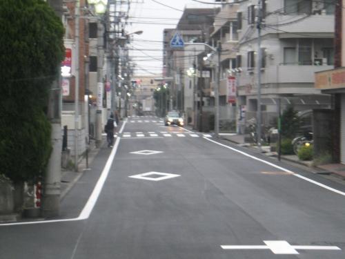 関町康申通りです。