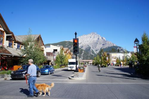 かわいい街並みです。小さい町なので、歩いて回れます。