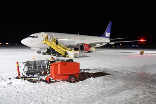 Kiruna(キルナ)空港<br />