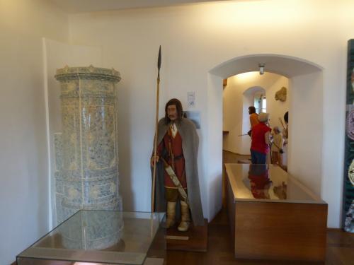 内部には歴史博物館?があります。