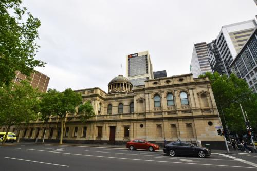Supreme Court of Victoria<br />210 William St, Melbourne VIC 3000<br /><br />州の最高裁判所<br />1852年に建造<br />