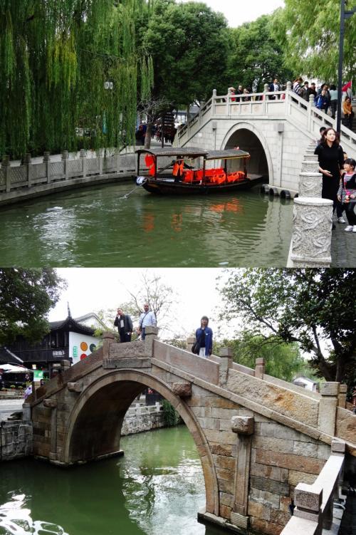 【香渓橋】写真上<br />最初に渡った『香渓橋』です。<br />橋を渡り振り向いて撮影してます。<br />『中国来た~~』って感じがします。<br /><br />【永福橋】写真下<br />看板のマップには記載が無い『永福橋』です。<br />通り過ぎてから振り向いて撮影してます。