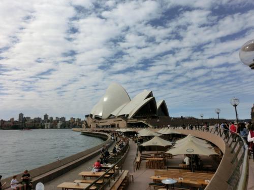オーストラリアの象徴ですよね。<br />オーストラリアに来たなーって思いますね。