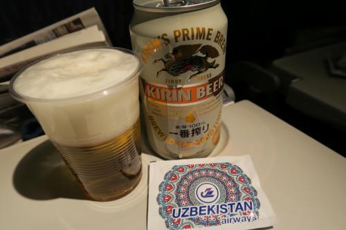 ビールは残念ながら日本製のみ