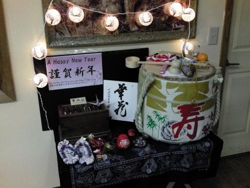 日本人が多いからか、アクティビティセンターに飾ってあった