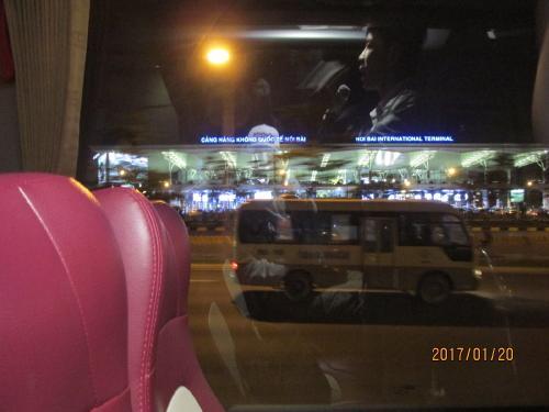 空港を後にしてホテルへ向かいます