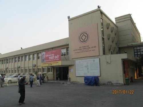 軍事歴史博物館、世界遺産の入場料3万ドン。