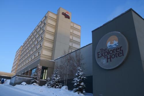 宿泊先はエクスプローラホテル。