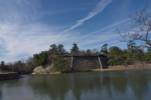 松江城 レイクラインを降りて最初の風景