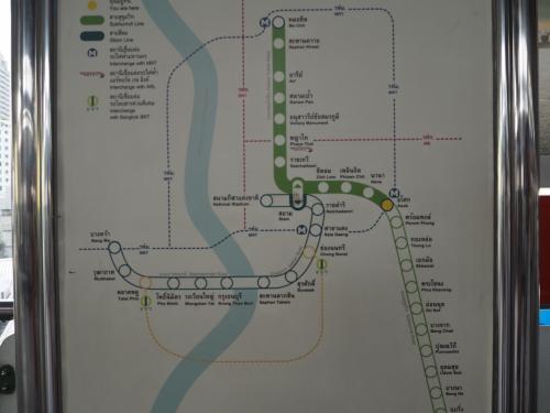 路線マップで確認すると、Mo Chit方面ですね。