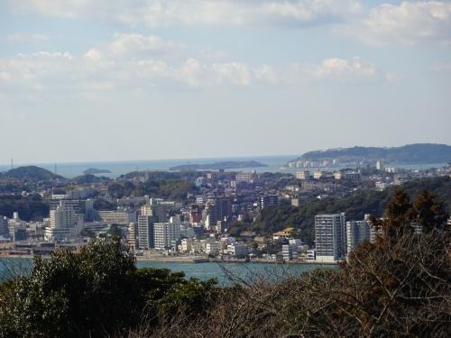 公園から見る対岸の下関市。