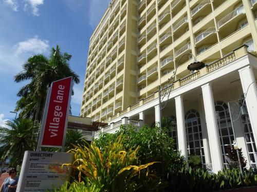 そして今回泊まるホテルのプルマンケアンズインターナショナルに到着。