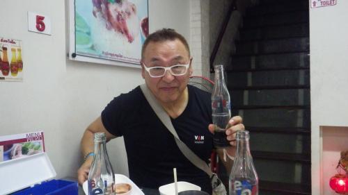 コーラで乾杯!