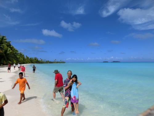 一つ目の島AKAIAMIに上陸<2>