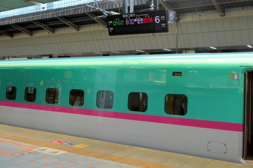 〔 東京駅 〕<br /><br />4月のある日曜日の朝。<br />時刻はまだ6時30分だというのに、体はすでに「東京駅」の新幹線ホーム上に。<br />今回の旅の目的地へ向かうべく、東北新幹線でまずは「仙台駅」へと移動していきます。<br /><br />まあ、サラリーマン的には基本土日しかお出かけできないので、時間を極力有効活用するとなると、必然的に朝が早くなるんですが・・・さすがに眠い。。。