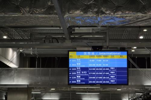 始まりは成田空港第3ターミナルから。LCCも3タミも初めての経験でした。