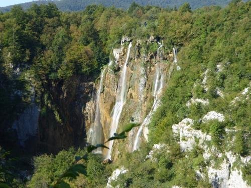 滝アップ!高さ78メートル。