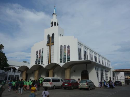 立ち寄った教会<br />Church of the Immaculate Conception