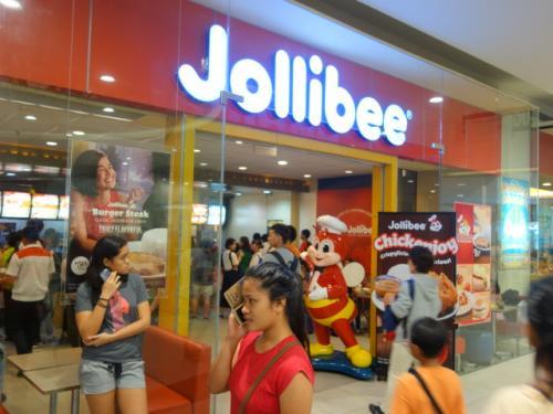 フィリピン人にとってのマクドナルド<br />「ジョリビー」