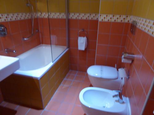 バスルームは悪くないですが、ちょっと狭かったです。