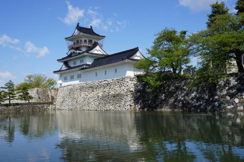 富山城は小規模ながら形の整った姿をしていて、美しい城郭と言えるだろう。