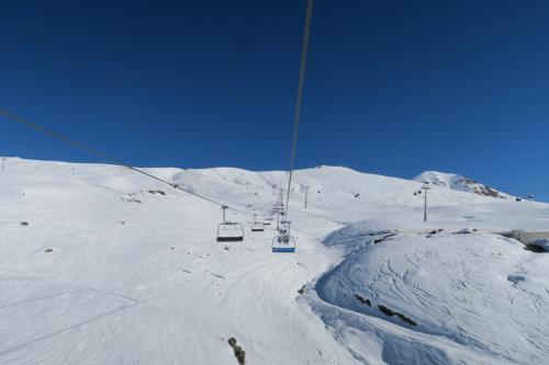 あぁ広い!スキー場の1/5が見えます。