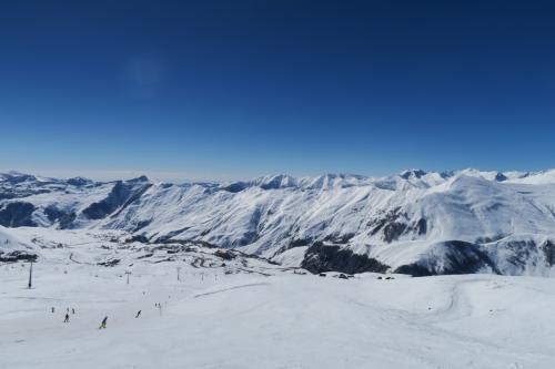 上の写真の左側です。Snow park1コースです。