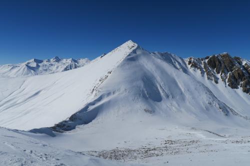峠の山です。