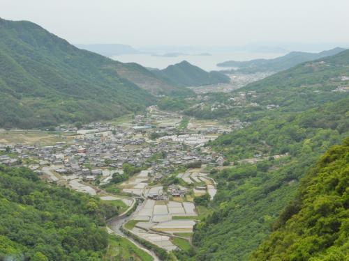 小豆島スカイラインからの眺望