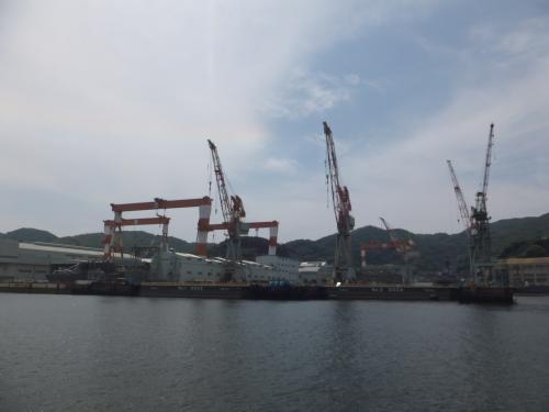 三菱長崎造船所も見学出来る場所があるとの事なので機会があれば行ってみたいと思いました。