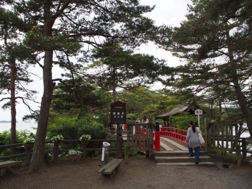 瑞巌寺の五大堂にも行きました。