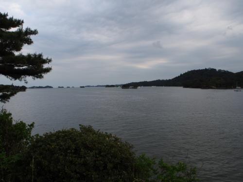 五大堂から松島を見た感じ。
